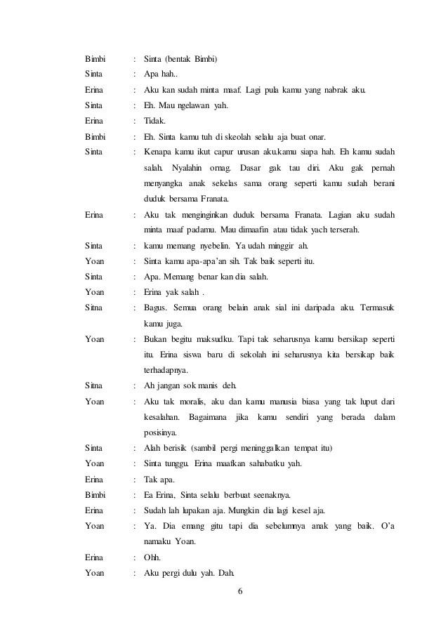 Naskah Drama 6 Orang Tentang Persahabatan Di Sekolah : naskah, drama, orang, tentang, persahabatan, sekolah, Contoh, Naskah, Drama, Tentang, Pendidikan, Orang, Temukan