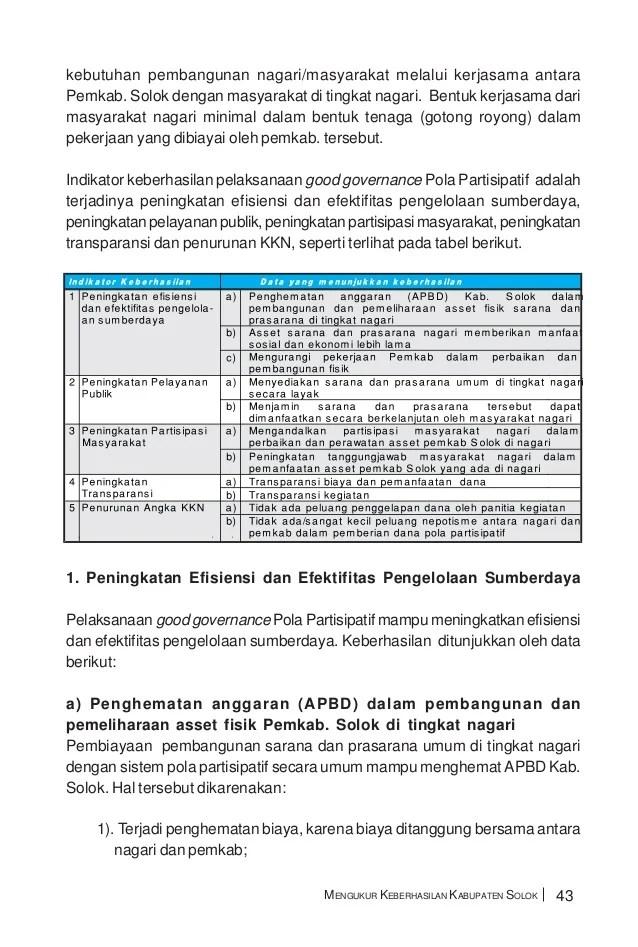 Ciri-ciri Tata Kelola Pemerintahan Yang Baik : ciri-ciri, kelola, pemerintahan, Pengertian, Kelola, Komunikatif, Menata