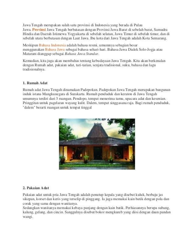 Upacara Adat Jawa Dalam Bahasa Jawa : upacara, dalam, bahasa, Kebudayaan, Tengah