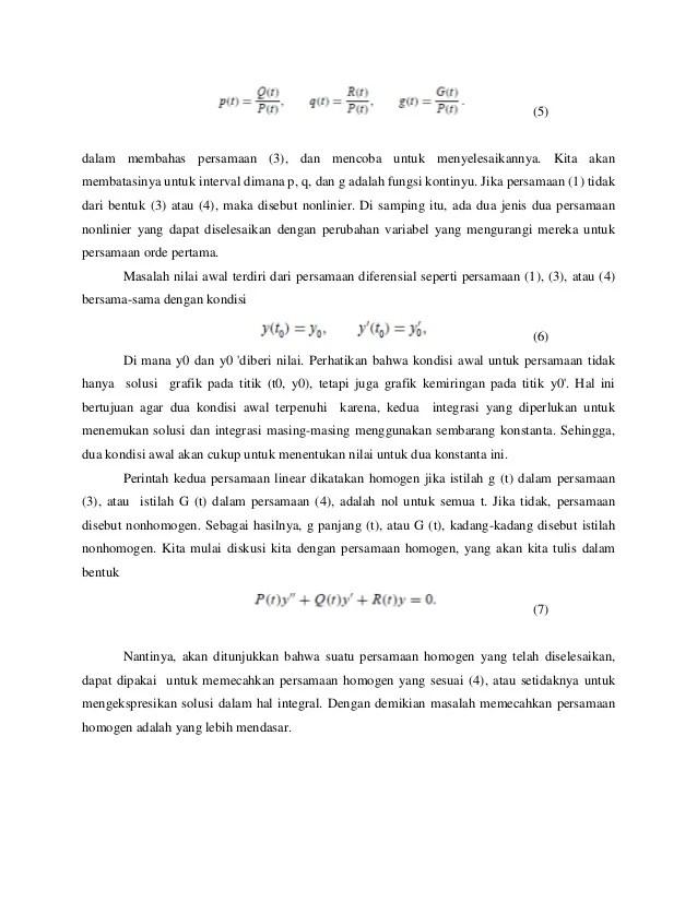 Makalah Persamaan Diferensial Orde 2 : makalah, persamaan, diferensial, Persamaan, Diferensial