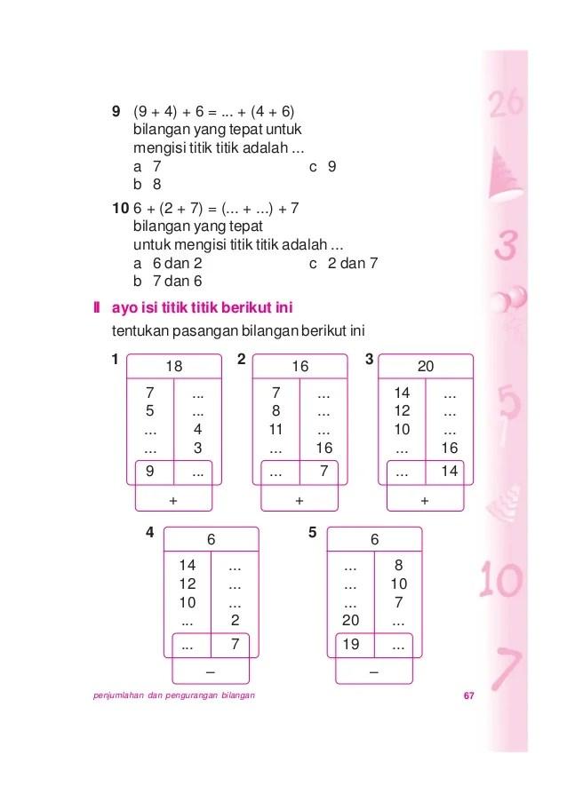 Lengkapilah Titik-titik Berikut Dengan Bilangan Yang Tepat : lengkapilah, titik-titik, berikut, dengan, bilangan, tepat, Matematika, Untuk, Kelas