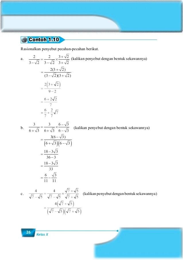 Materi Matematika Kelas 10 Semester 1 : materi, matematika, kelas, semester, Contoh, Matematika, Kelas