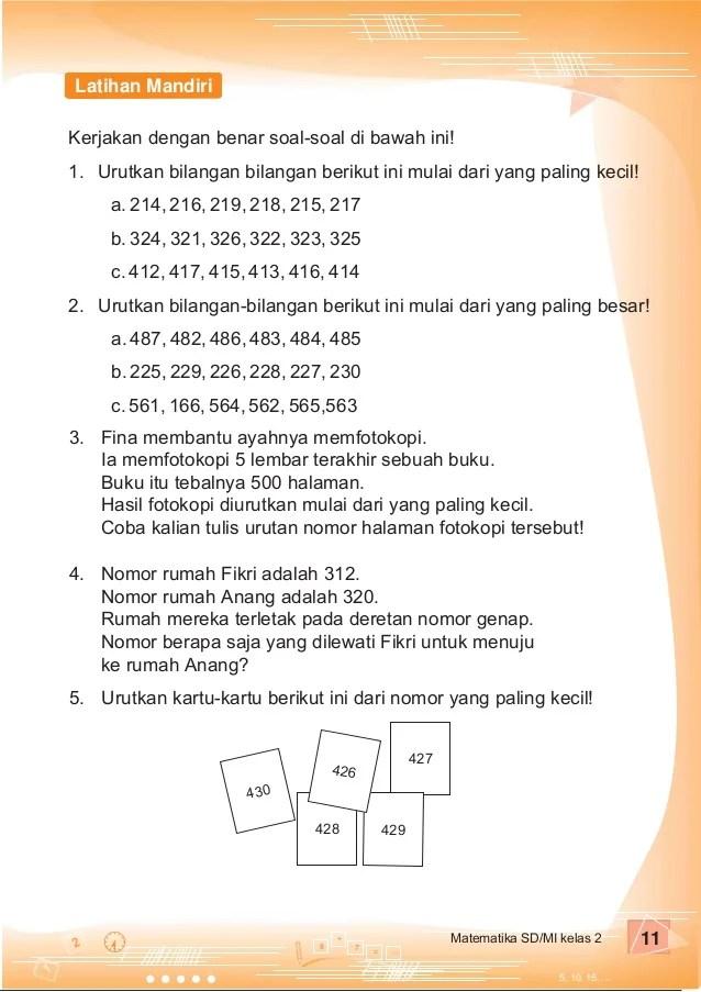 Soal Cerita Matematika Kelas 2 Sd : cerita, matematika, kelas, Contoh, Matematika, Cerita, Kelas