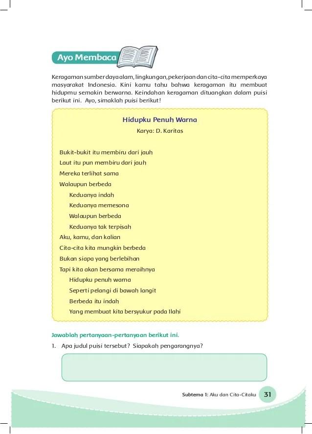 Puisi Anak Tentang Cita Cita : puisi, tentang, Contoh, Syair, Tentang, Cikimm.com
