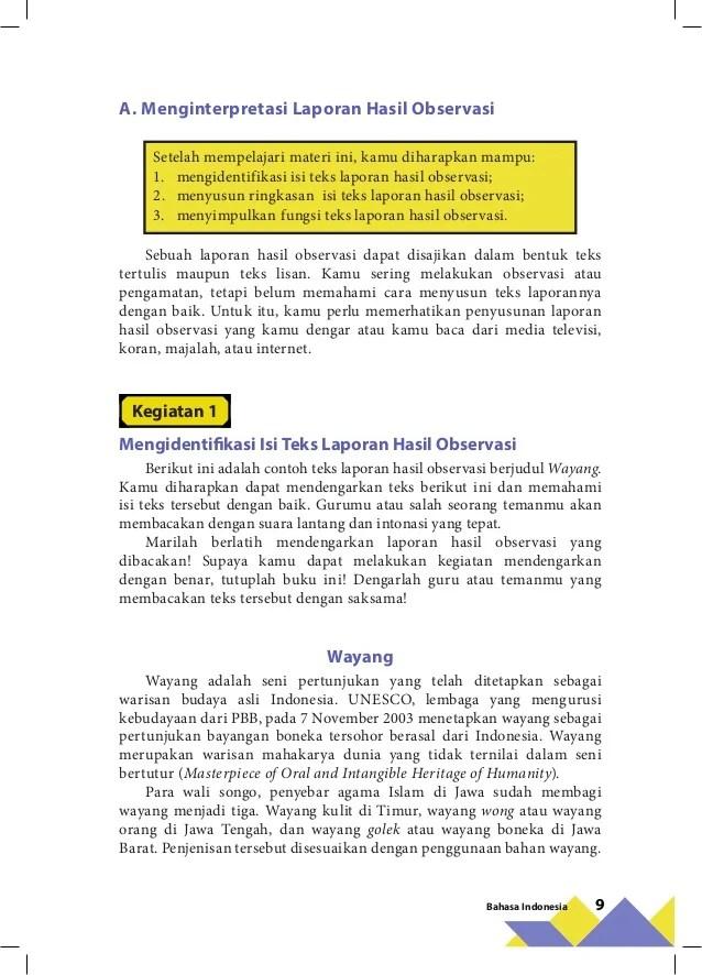 Merevisi Isi Teks Laporan Hasil Observasi : merevisi, laporan, hasil, observasi, Contoh, Laporan, Hasil, Observasi, Agape