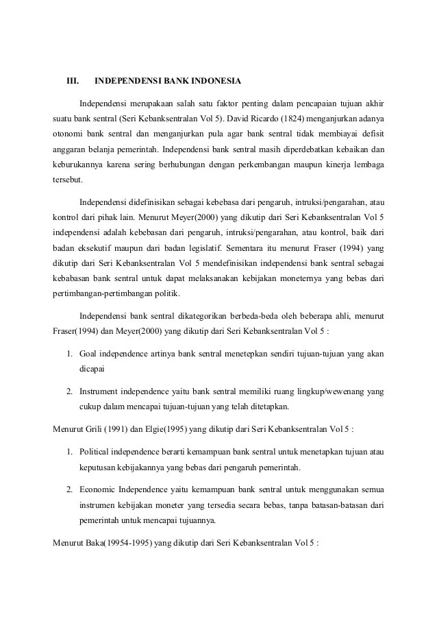 Salah Satu Lingkup Wewenang Ojk Adalah : salah, lingkup, wewenang, adalah, Kebanksentralan, Indonesia, Tugas, Kelompok