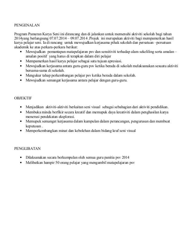 Tujuan Pameran Sekolah : tujuan, pameran, sekolah, Kertas, Kerja, Pameran, Visua