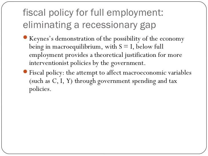 Keynesian model with multiplier