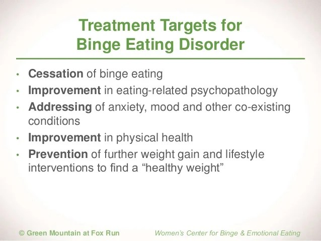 Keys to Effective Treatment for Binge Eating Disorder for