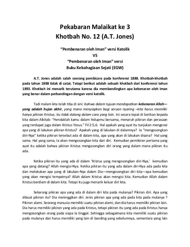 Khotbah Kristen Singkat : khotbah, kristen, singkat, Khotbah, Jones, Session, 1893)