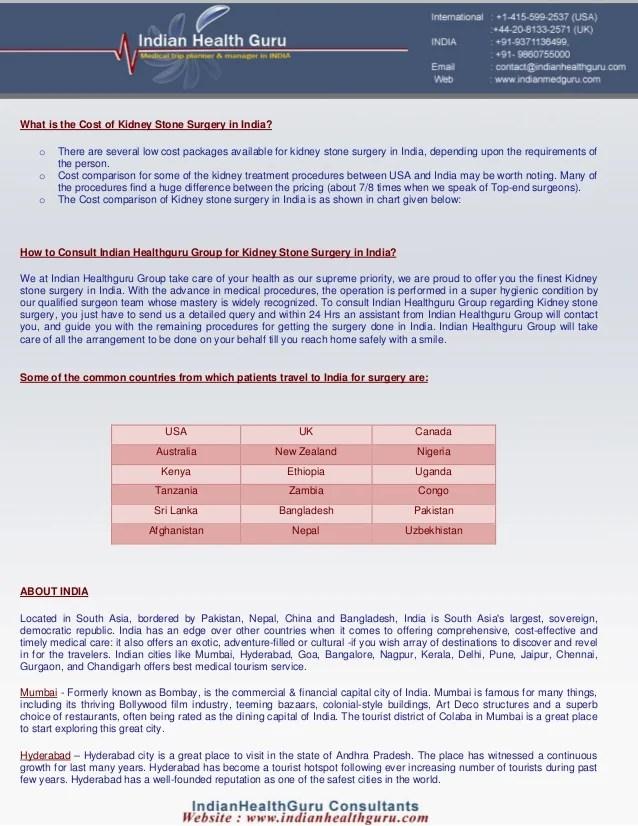Kidney Stone Surgery Cost In Kerala - kidneyoi