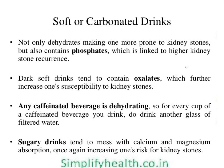 Diet and Kidney/Renal stone