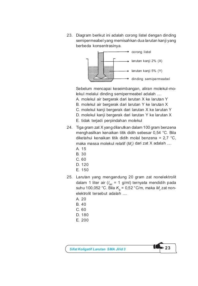 Semipermeabel Adalah : semipermeabel, adalah, Kimia, Kelas, _ari_harnanto