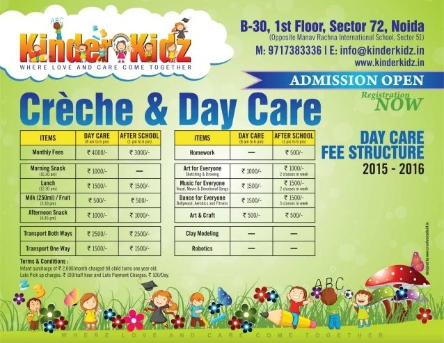 Kinder Kidz Day Care B 30 FF Sector 72 Noida