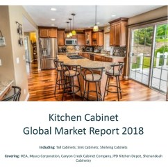 Kitchen Cabinet Company Appliance Garage Kits Global Market Report 2018 Including Tall Cabinets Sink Shelving