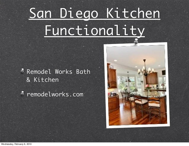 San Diego Kitchen Functionality