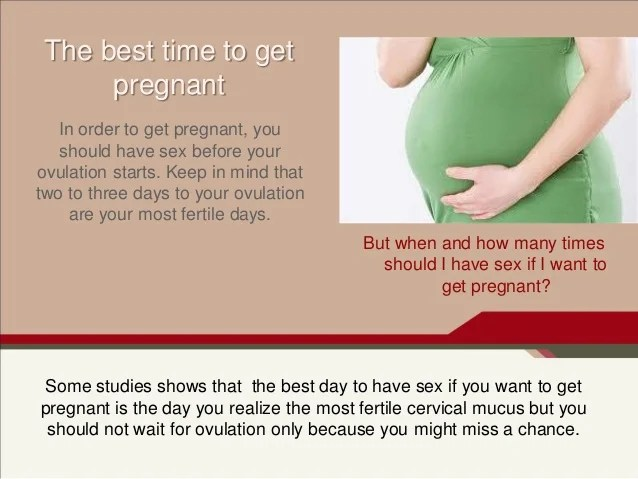 How do you know get pregnant becoming pregnant stages