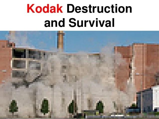 disruptive innovation kodak and