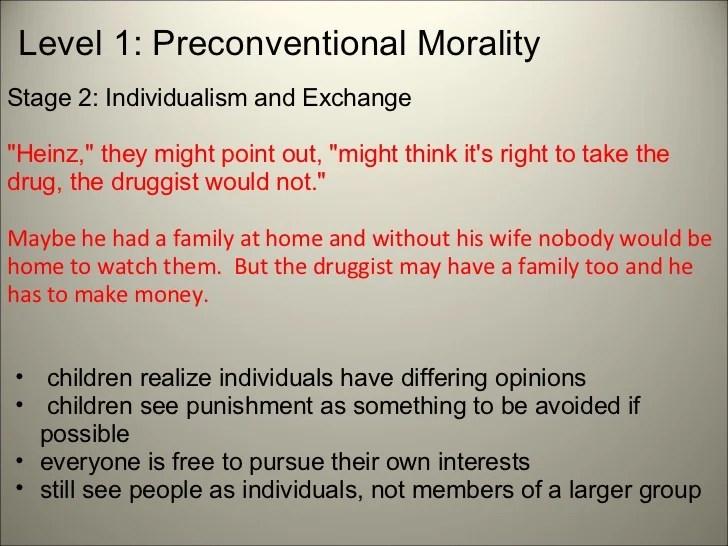 Kohlberg's Theory Of Moral Reasoning