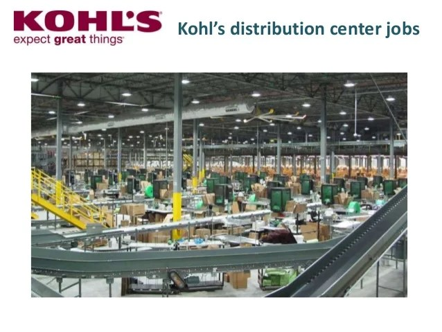 Kohl distribution center jobs