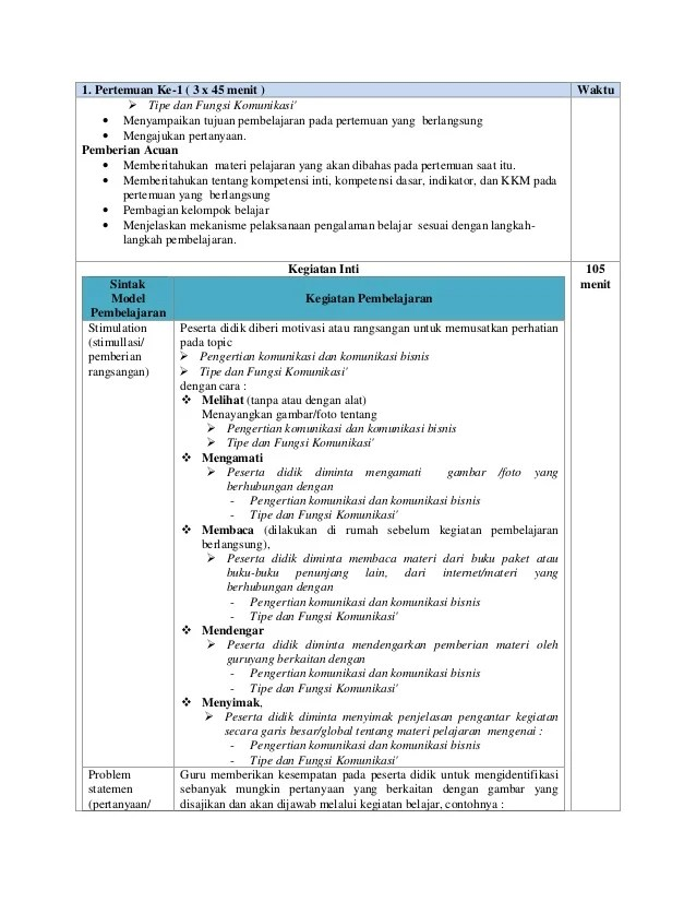 Rpp Biologi Kelas X Kurikulum 2013 Revisi 2017 : biologi, kelas, kurikulum, revisi, Komunikasi, Bisnis, Kelas, Trendlasopa