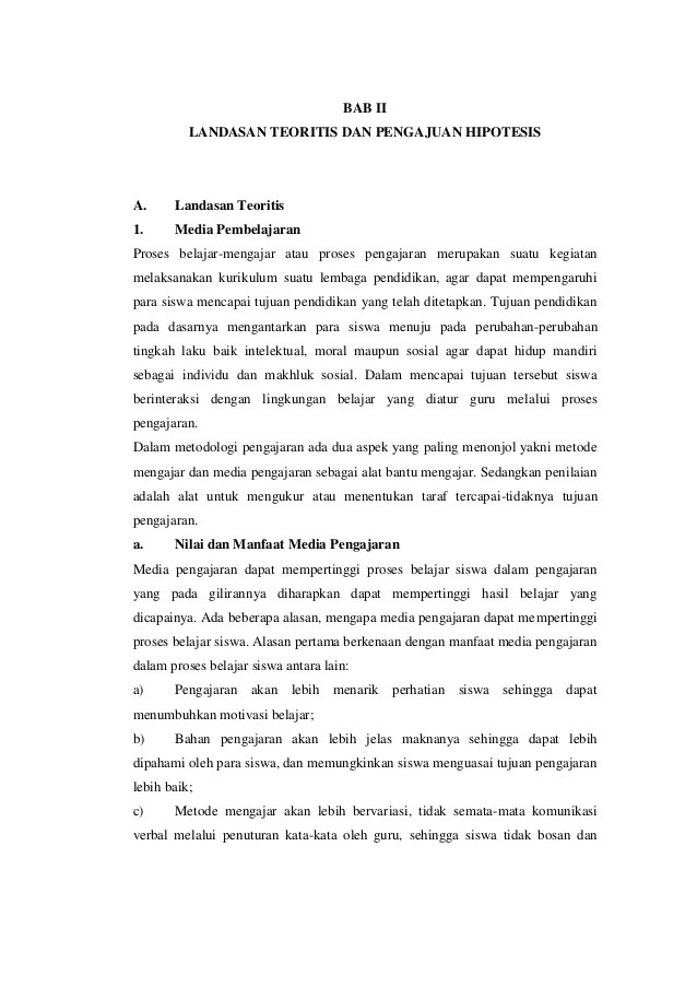 Bab Ii Landasan Teori Pengertian Menulis Contoh Teks Cute766