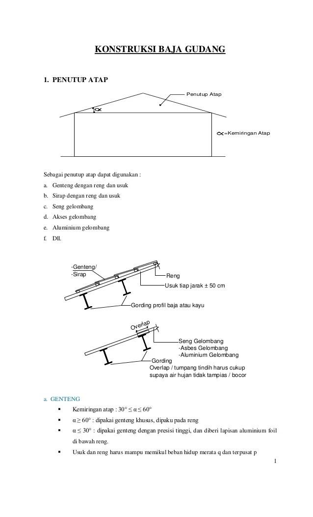 baja ringan pdf konstruksi gudang-baja