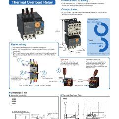 Contactor And Thermal Overload Relay Wiring Diagram Mikuni Flat Slide Carb Diagrams Control Reversing