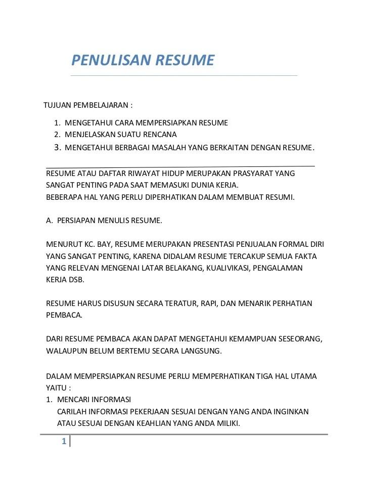 Contoh Resume Makalah : contoh, resume, makalah, Contoh, Format, Resume, Makalah, Cute766