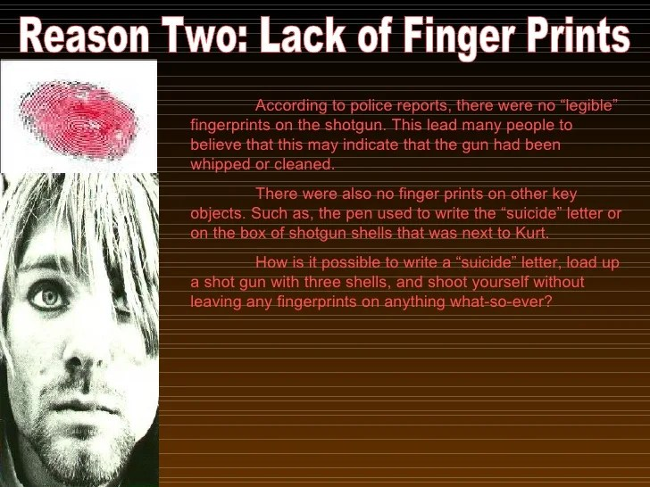 Kurt Cobain Murder