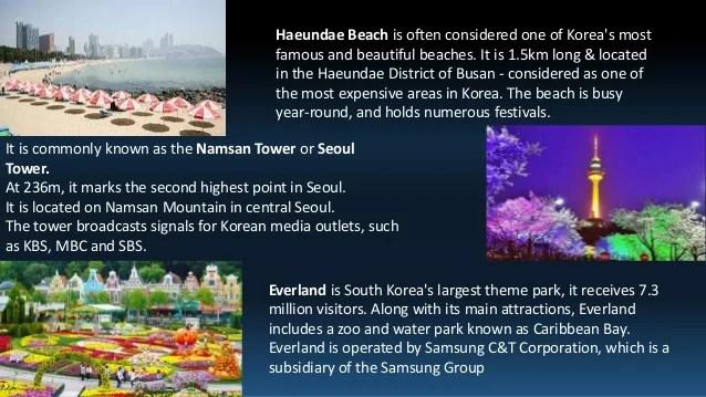 South Korea Presentation Various Topics
