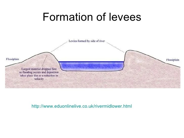 levee cross section diagram data flow symbols visio l4 levees and floodplains formation of http www eduonlinelive co uk rivermidlower html