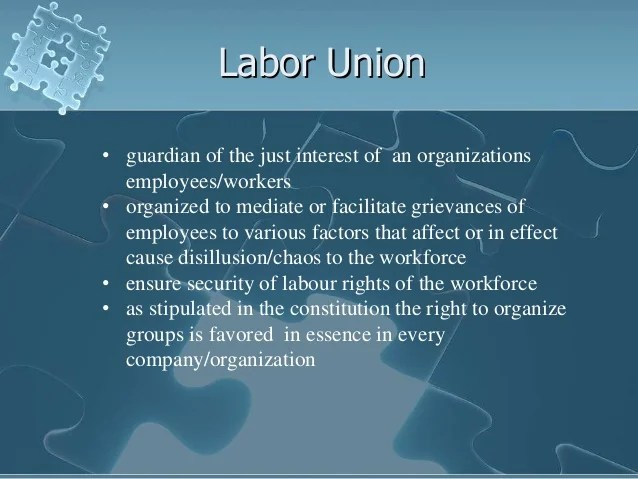 Labor Management Relations In The Philippine