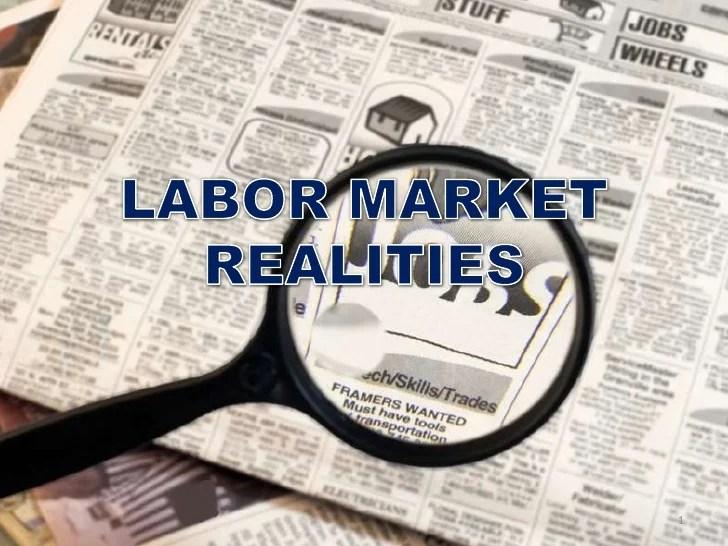 Labor Market Realities