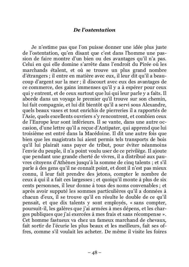 Les Caractères La Bruyère Texte : caractères, bruyère, texte, Télécharger, Bruyère, Caractères, Extrait, Gratuit, PDFprof.com