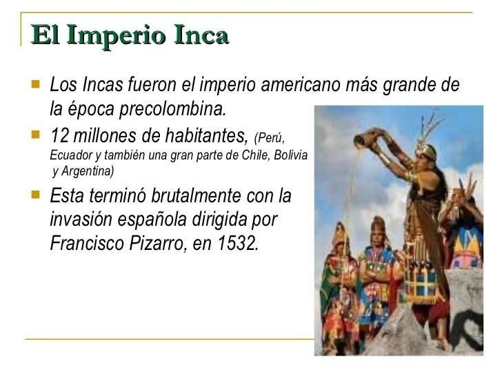 Los Incas Resumen  SEONegativocom