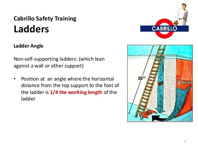 Ladder Safety Pdf