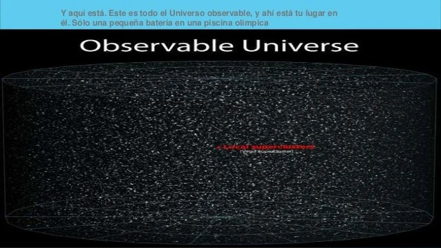 La grandeza del universo