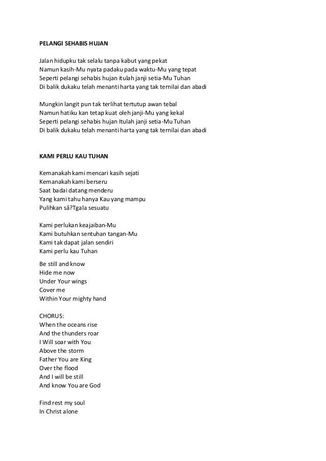 Lirik Kami Perlu Kau Tuhan : lirik, perlu, tuhan, Rohani, Perlukan, Keajaiban, Perlu, Cute766