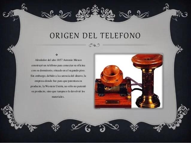La historia de telfono