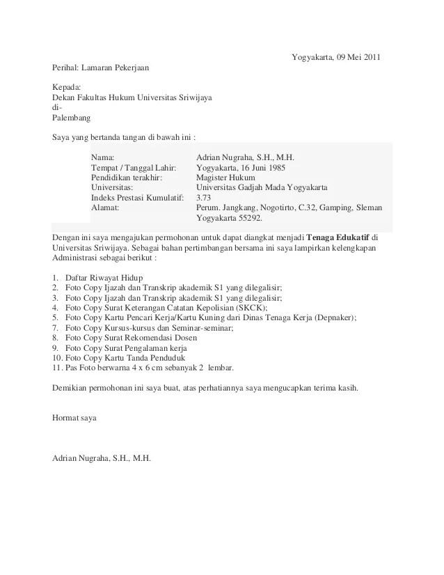format curriculum vitae serdos 2013