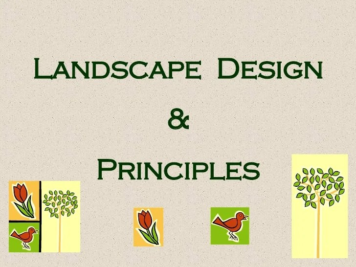 Qualifications Landscape Design