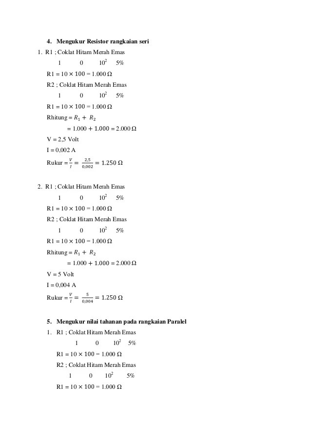 Contoh Laporan Praktikum Fisika Dasar 1 Kumpulan Contoh Laporan Cute766