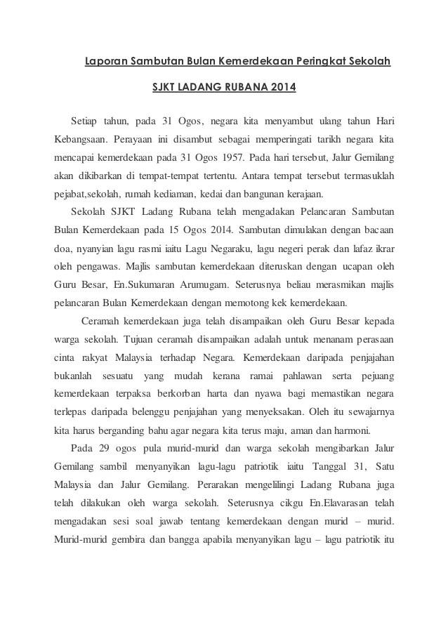 Karangan Sambutan Hari Kemerdekaan Pt3
