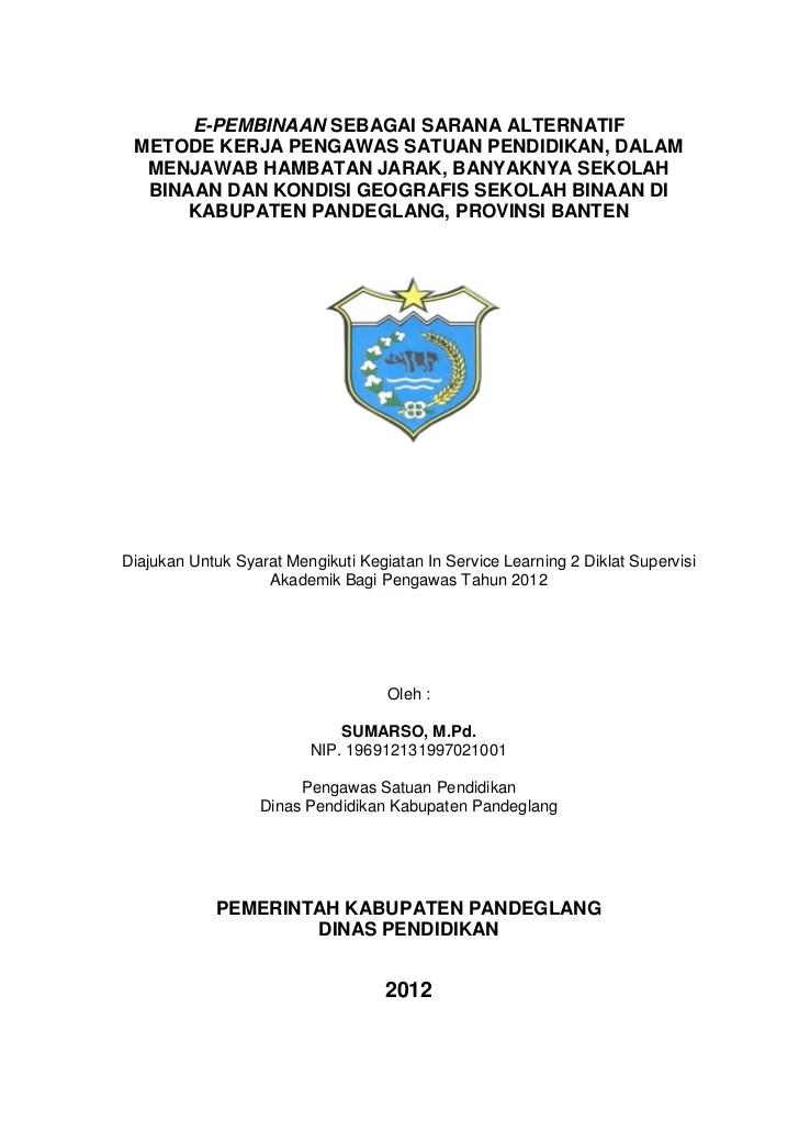 Contoh Laporan Best Practice Pkp Sd Lengkap 2019 2020 Guru Pantura