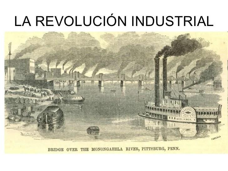 Resultado de imagen de la revolucion industrial
