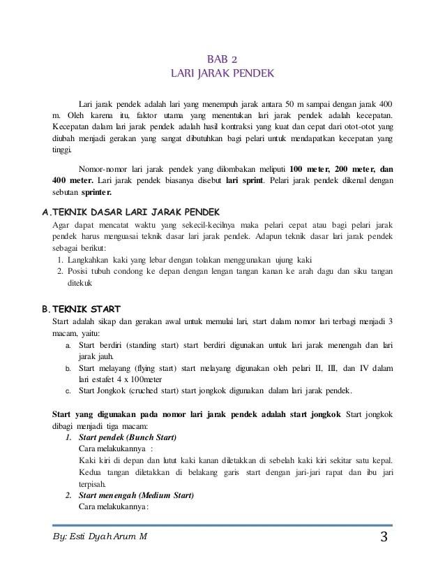 Makalah Lari Sprint : makalah, sprint, Makalah, Jarak, Pendek, Meter, Contoh
