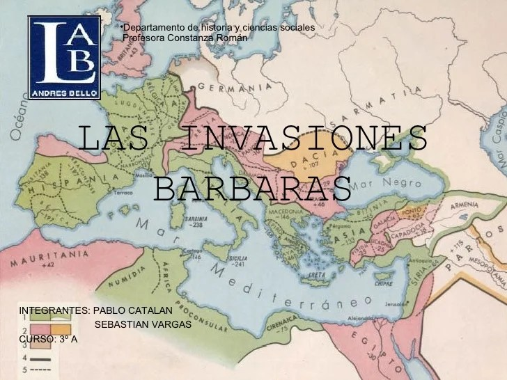Las Invasiones Barbaras 1 6black Lleter1.6