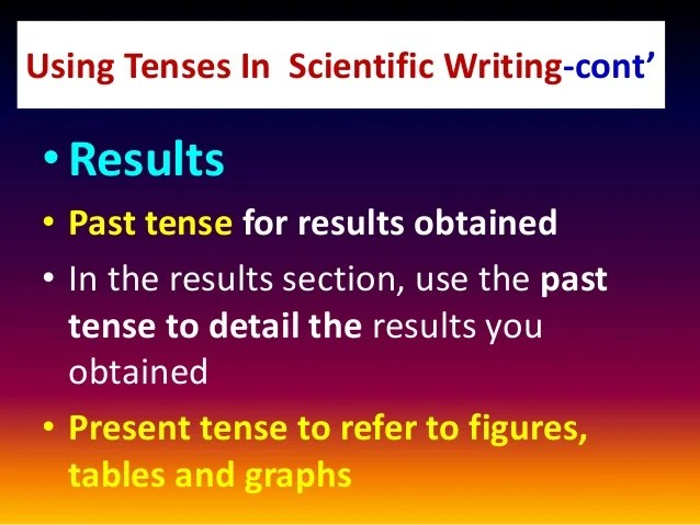 Scientific Writing Basic Skills And Tools