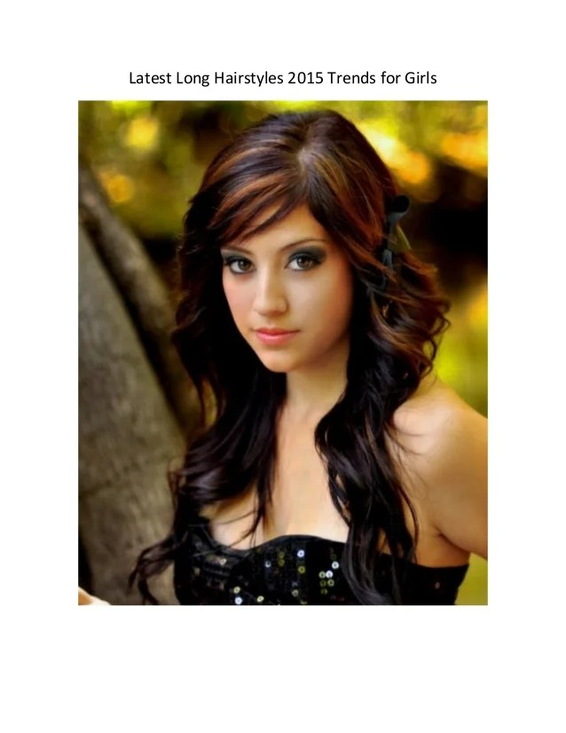 latest long hairstyles 2015 trends